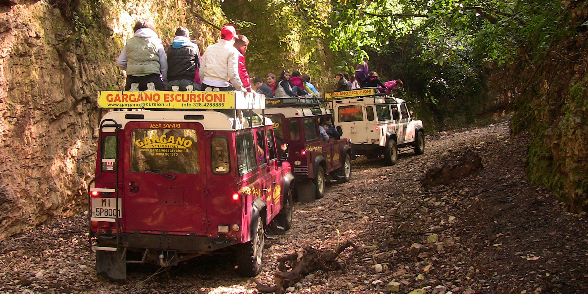 Lagune, istmi e costa JEEP SAFARI