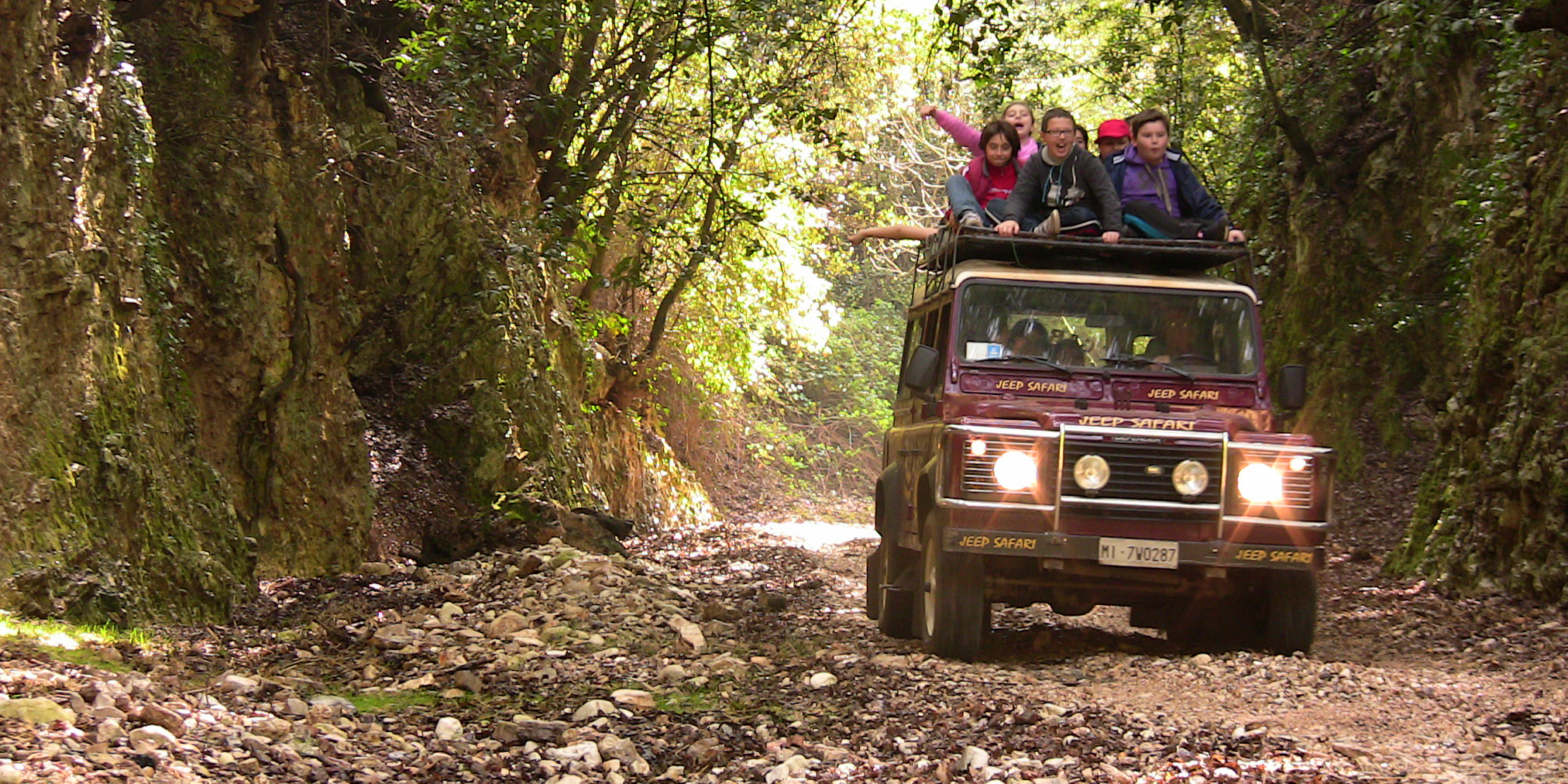 10 KM di CANYON JEEP SAFARI